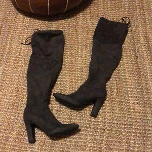 Unisa knee high suede boots